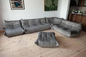 100 Ligne Rosse Togo Living Room Set By Michel Ducaroy For Roset 1979