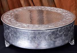 22 Silver Plated Wedding Cake Stand