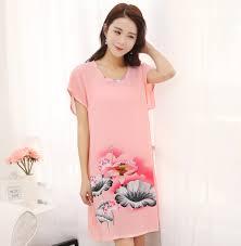online buy wholesale pink night dress women from china pink night