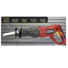 Chicago Electric Tile Saw 7 by Chicago Electric 6 Amp Reciprocating Saw With Rotating Handle