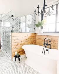 50 beautiful farmhouse bathroom design and decor ideas