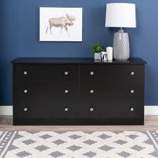 drawer luxury black 6 drawer dresser furniture black dresser