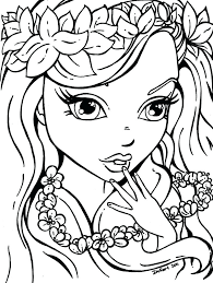 Full Image For Free Printable Flower Garden Coloring Pages Girls Flowers Colouring Pictures