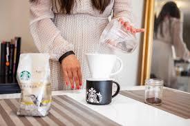 Chicago Food Girl Starbucks Coffee Table