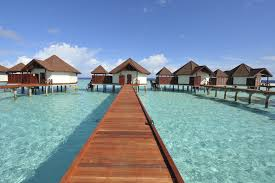 Lagoon Villa Tread On Water With The Aquatic Life Underneath You In Full View From A Glass Floor Your Living Area Enjoy Sunset Private