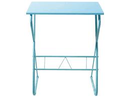 petit bureau informatique conforama bureau informatique pulp coloris bleu vente de bureau conforama