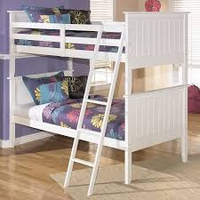 lulu twin over twin bunk bed signature design by ashley furniture