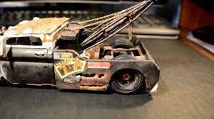 100 Rat Rod Tow Truck Wrecked Wrecker Model YouTube