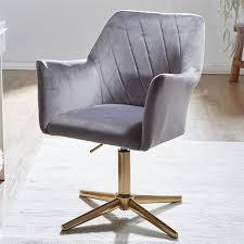 wohnling design drehstuhl hellgrau samt drehbar ohne rollen küchenstuhl mit armlehne bequemer schalenstuhl esszimmer esszimmerstuhl mit lehne