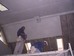 Hanging Drywall On Ceiling Trusses by Hanging Drywall On Ceiling One Person Integralbook Com