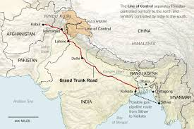 Permeable Lines On The Grand Trunk Road