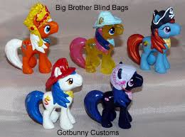 Big Brother Blind Bag MLP Customs by gotbunny on DeviantArt