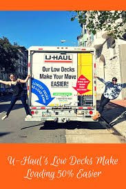 U-Haul's Low Loading Decks Are Just One Of The Features That Make ...