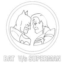 Batman Vs Superman A Breaking The Bonds Coloring Pages
