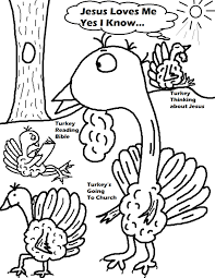 Coloring Page Thanksgiving Pages
