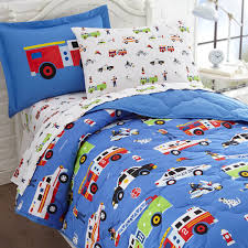 Fire Truck Bedding Twin Cover — Twin Bed Ideas : Decorating Kids ...