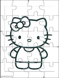 Cut Coloring Pages Images Of Hello Kitty Books Together With