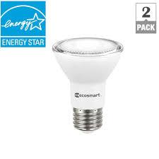 ecosmart 50w equivalent daylight par20 dimmable led flood light