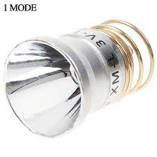 ultrafire 3 7 4 2v 1 mode cree xm l t6 led spare bulb for 26 5mm