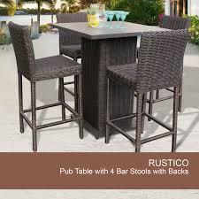 wicker bar height patio set bar stools portable bar station outdoor wicker bar stools patio