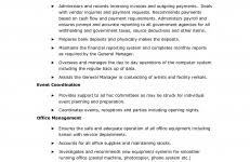 Church Administrator Resume Examples With Example Admin Madrat Co Office Manager