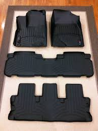 Husky Weatherbeater Floor Liners Amazon by Weathertech Digitalfit Floor Liners For The New Highlander Unboxed