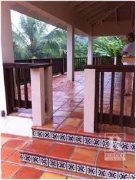 Saltillo Tile Sealer Exterior by Saltillo Tile Walk And Stairs Paint Ceramic Tiles Hand Painted