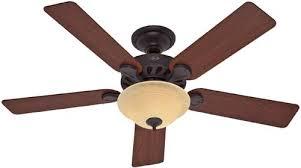 hunter 23723 52 inch five minute ceiling fan new bronze ceiling