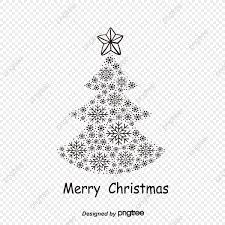 Christmas Tree Black Vector Christmas Vector Tree Vector PNG And