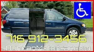 Wheelchair Van For Sale 2003 Dodge Grand Caravan SE Accessible