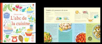 abc cuisine éditions usborne livres de cuisine
