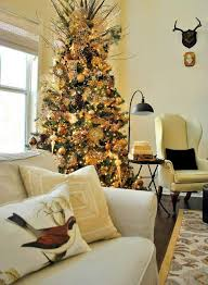 Christmas Decoration Ideas For Decorating Tree Modern Rustic Style