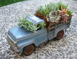 Decorating With Vintage Toy Trucks