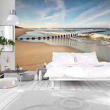 vlies fototapete strand meer landschaft tapete wandbilder