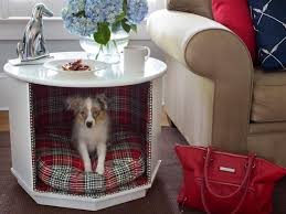 How To Build A End Table Dog Crate by How To Turn Old Furniture Into New Pet Beds Diy