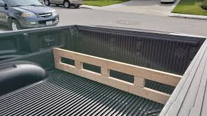 100 Bed Liner Whole Truck Homemade Bed Divider Fits Into Slots In Bedliner To Contain Small