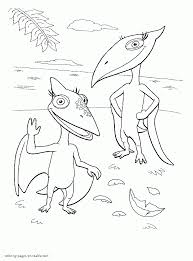Tiny And Shiny Coloring Sheet To Print 108 Dinosaur Train