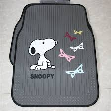 Cute Car Floor Mats by Buy Wholesale Cute Snoopy Cartoon Butterfly Universal Automobile