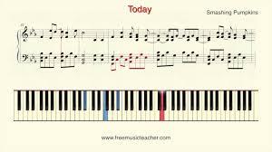 Smashing Pumpkins 1979 Bass Tab by How To Play Piano Smashing Pumpkins