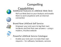 Landesk Service Desk Web Services by Hdi Capital Area And Corporate Updates April 23 2014