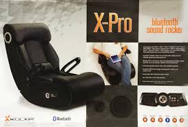 X ROCKER Gaming Chair New X-PRO With Bluetooth Audio Sound/Rocker PS4/Xbox  One Gurugear 21channel Bluetooth Dual Gaming Chair Playseat Bluetooth Gaming Chair Price In Uae Amazonae Brazen Panther Elite 21 Surround Sound Giantex Leisure Curved Massage Shiatsu With Heating Therapy Video Wireless Speaker And Usb Charger For Home X Rocker Vibe Se Audi Vibrating Foldable Pedestal Base High Tech Audio Tilt Swivel Design W Adrenaline Xrocker Connectivity Subwoofer Rh220 Beverley East Yorkshire Gumtree Pro Series Ii 5125401 Black