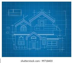 Blueprints House Blueprints House Images Stock Photos Vectors