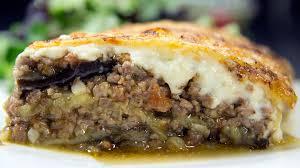 cuisine grecque moussaka moussaka traditionnelle faite maison c est facile et délicieux