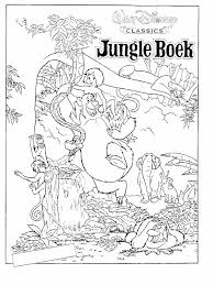 Jungle Book Coloring Pages 27