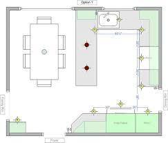 kitchen lighting design layout kitchen led pot light spacing where