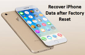 How to Recover iPhone Data after Factory Reset iPhone 7 7 Plus