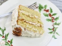 Italian Cream Cake & Festive White Cake