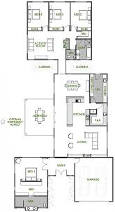 100 Floor Plans For Split Level Homes House Bedroom Modern One Craftsman Home