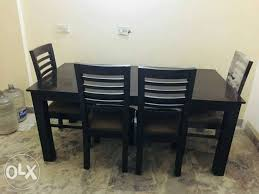 Dining Table With Chair One Year Old Delhi Furniture Sultanpur Rh Olx In Room Tables