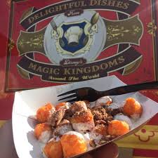 100 World Fare Food Truck Sweet Potato Tots In A Marshmallow Sauce With Cinnamon And Walnuts